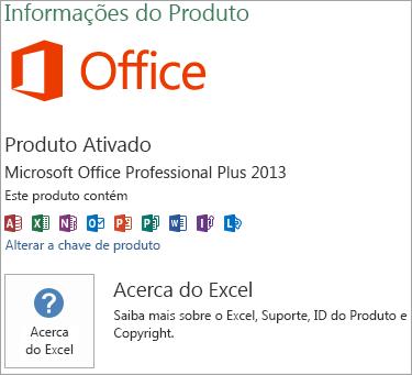 Instalação Excel Msi
