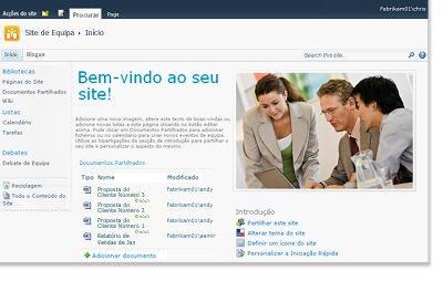 Site de Equipa do SharePoint