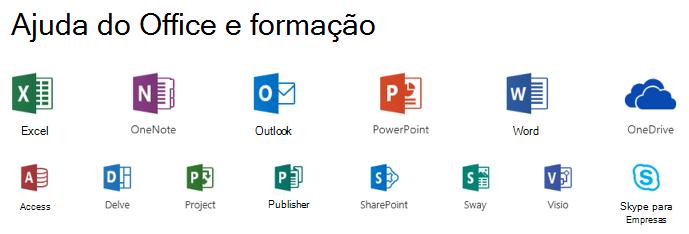 Opções de suporte para Microsoft Office