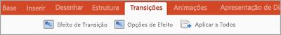 Separador Transições