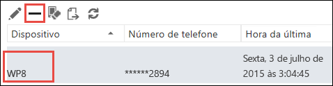 Remover telefone do Outlook Web App