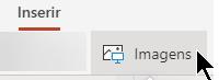 O botão Inserir Imagem
