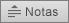 Apresenta o botão Notas no PowerPoint 2016 para Mac