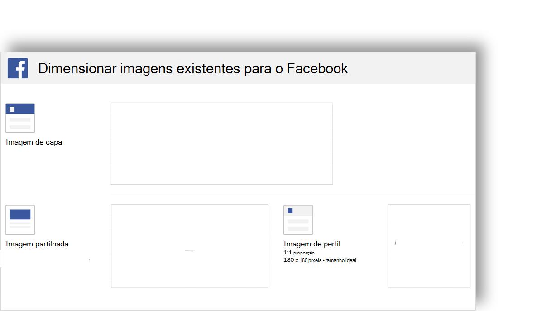 Imagem conceptual de um modelo de imagem de redes sociais