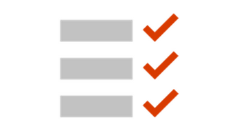 ilustração de uma lista de verificação conceptual