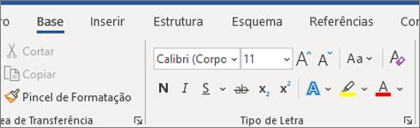 Adicionar e formatar texto no Word