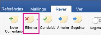Imagem do botão Cabeçalho e Rodapé no Word Web App