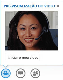 Captura de ecrã do início de vídeo a partir de uma MI