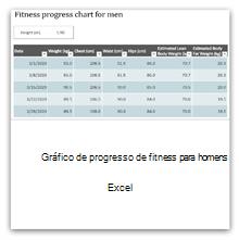 Selecione isto para obter o modelo do Gráfico de Progresso da Condição Física para Homens