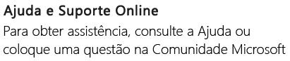 """""""Ajuda e suporte online"""" para o PowerPoint num telemóvel Android"""
