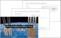 O Início Rápido do PowerPoint cria uma apresentação de destaques com base no assunto da sua preferência.