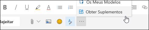 Uma imagem do botão Get add-ins