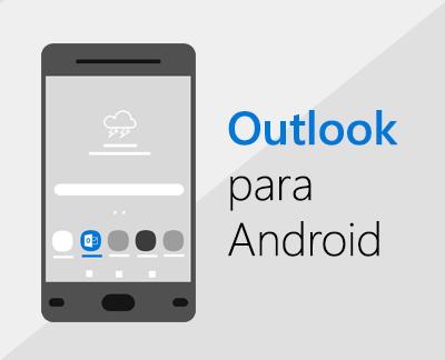 Clique para configurar o Outlook para Android