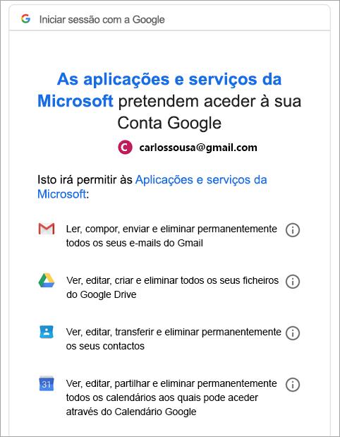 gmail iniciar sessão