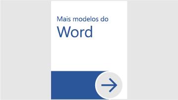 Mais modelos do Word