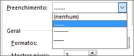 Altere o coordenador de separador no seu índice para traços ou pontos.