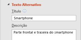 Funcionalidade Texto Alternativo de Imagens do PowerPoint