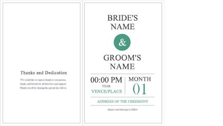 Imagem conceptual de um programa de casamento