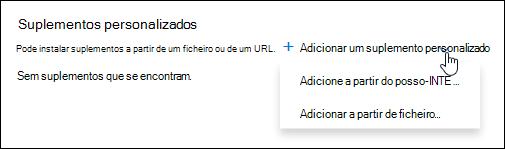 Add-ins personalizados