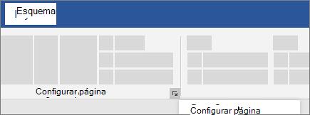 Configuração da Página