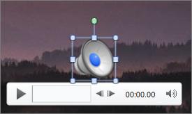 Ícone de áudio