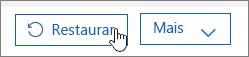 Restaurar um utilizador no Office 365.