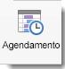 O Ícone Agendar é apresentado no separador Organizador de Reunião.
