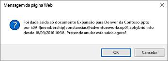 imagem de tela de aviso sobre verificar em outro arquivo de utilizadores