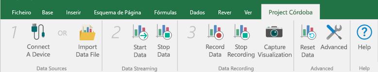Ligar uma origem de dados