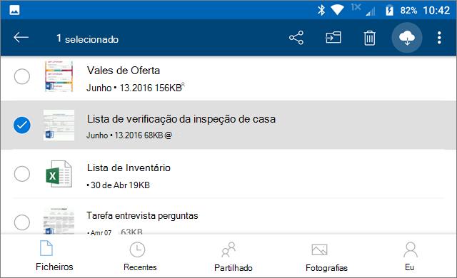 Manter o OneDrive online