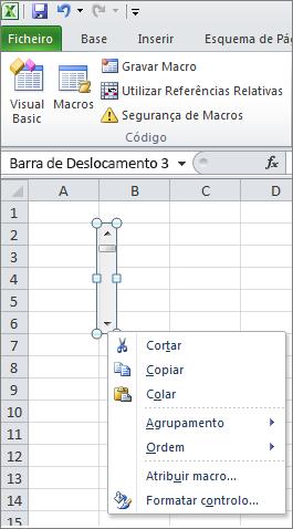 controlo de formato de barras de scoll
