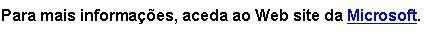 Texto da ligação do endereço Web revisto