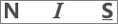 Ícones Negrito, Sublinhado e Itálico