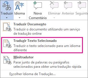 Traduzir Texto Selecionado