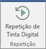 Selecione o botão Repetição de Tinta Digital para fazer avançar e recuar os seus traços de tinta digital.