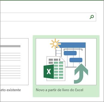 Modelo de livro do Excel