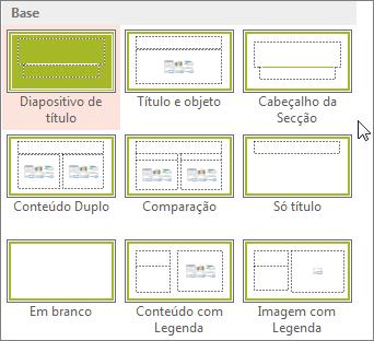 Esquemas de Diapositivos no PowerPoint