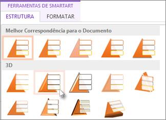 Aplicar estilos SmartArt