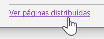Botão ver distribuir páginas
