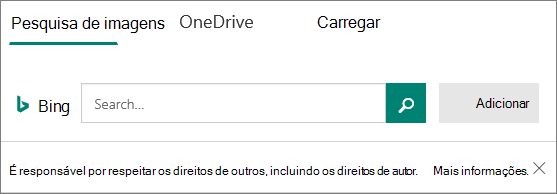Inserir opções de imagem para Microsoft Forms