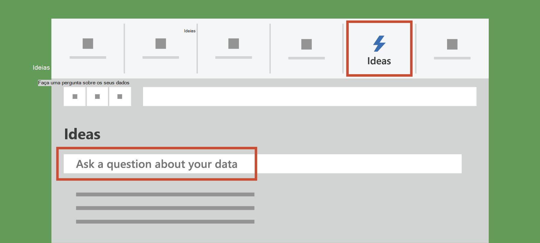 Mostra Ideias no Excel