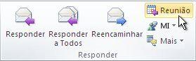 comando responder com reunião