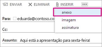Inserir Anexo