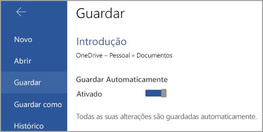 Alternar gravação automática no Android