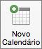 Botão Novo Calendário do Outlook 2016 para Mac