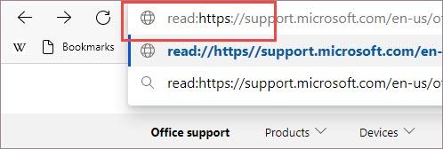 Adicione um prefixo ao URL.
