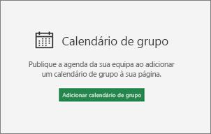Adicionar o calendário de grupo
