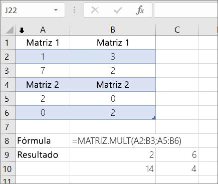 Função MULT – Exemplo 1