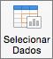 No separador Estrutura do Gráfico, selecione Selecionar Dados