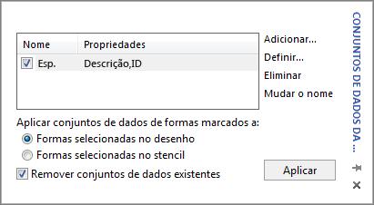 Caixa Conjuntos de Dados da Forma